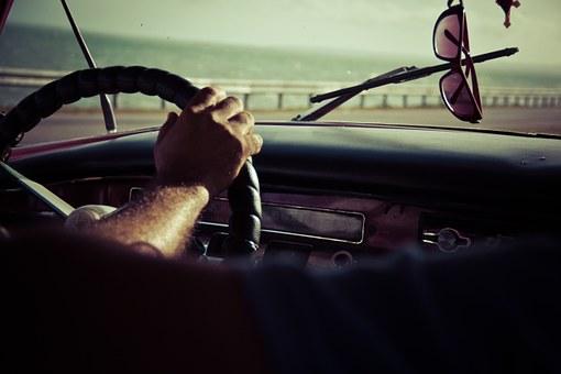Driving, Steering Wheel, Dash