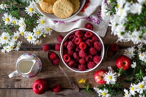 Raspberry, Berry, Summer, Closeup