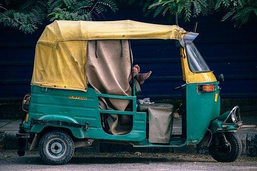 Asia, Rickshaw, Asian, Bangkok, Car
