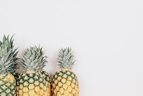 Fruit, Pineapple, Minimal, Minimalism