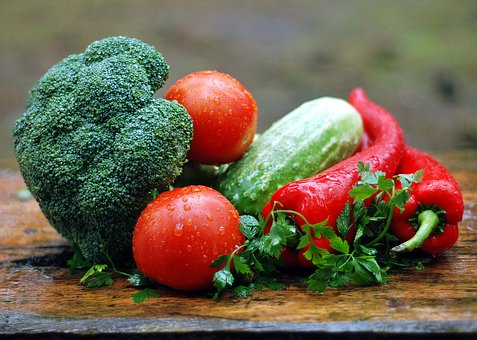 Vegetables, Healthy Nutrition, Cooking