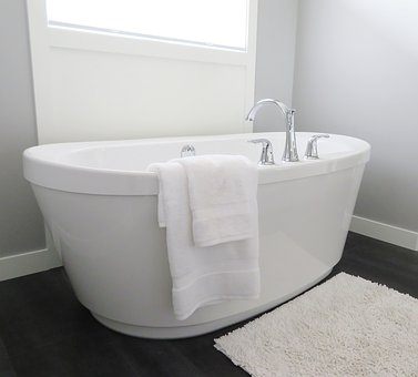 Bathtub, Tub, Bathroom, Bath, White