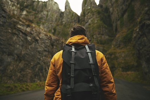 Adult, Adventure, Backpack, Male, Man
