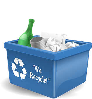 Recycle, Bin, Container, Recycling, Box